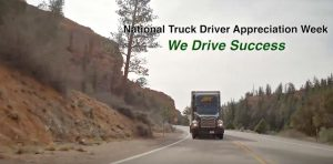 National Truck Drivers Week