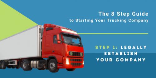 legally establish your company
