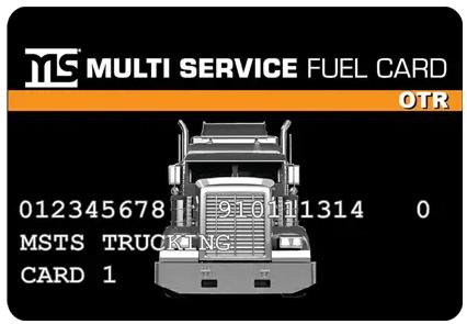 multi service fuel card